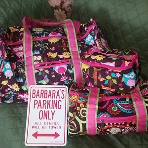 N.Gil set of 3 Travel Bags
